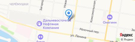 Социальная аптека на карте Благовещенска