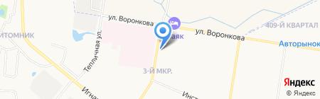 Павильон №114 на карте Благовещенска