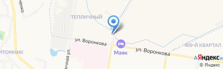 Маяк на карте Благовещенска