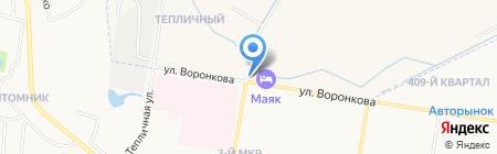 АЗС Маршрут на карте Благовещенска