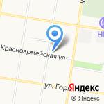 Бренд Моторс на карте Благовещенска