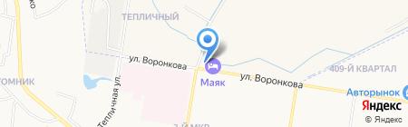 АМУРАВТОМОТОРС на карте Благовещенска