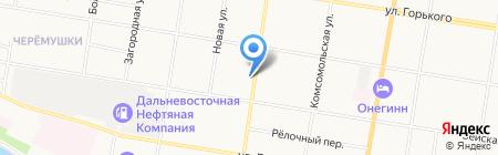 Джин на карте Благовещенска