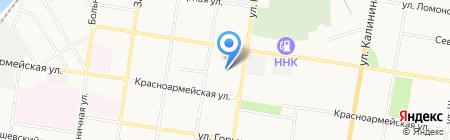 Автопомощь на карте Благовещенска