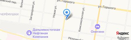 Амургидромонтаж на карте Благовещенска