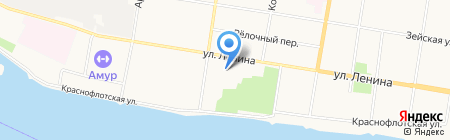 Проф-Консалтинг на карте Благовещенска