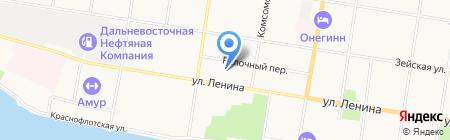 The Opera на карте Благовещенска
