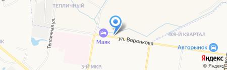 Эвакуатор на карте Благовещенска