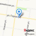 Амурский коллектор на карте Благовещенска