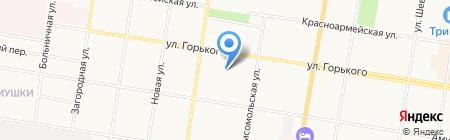 Плазма на карте Благовещенска