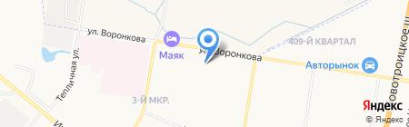 АмГУ на карте Благовещенска