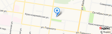 Военная комендатура Благовещенского гарнизона на карте Благовещенска