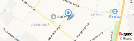 Адвокатский кабинет Севостьяновой А.П. на карте Благовещенска