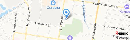 Центр Крепежа на карте Благовещенска