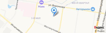 Удобный на карте Благовещенска