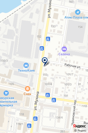 Доктор ШИН на карте Благовещенска