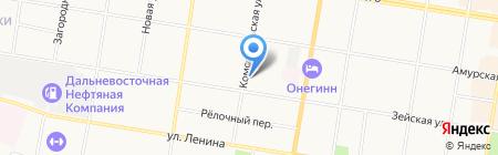 Нотариус Бороденко С.В. на карте Благовещенска