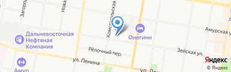 Анталия на карте Благовещенска