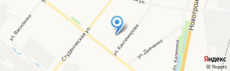 Детский сад №64 Аистенок на карте Благовещенска