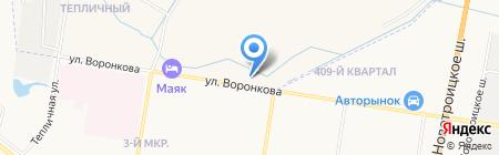 АЗС Альфа на карте Благовещенска