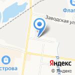 Kicker на карте Благовещенска