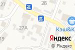 Схема проезда до компании Черешневый сад в Чигирях
