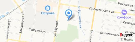 Юрконсул на карте Благовещенска