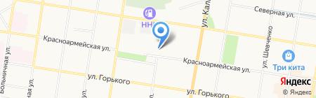 Административный участок №49 на карте Благовещенска