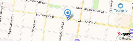 Консультант-аудит на карте Благовещенска