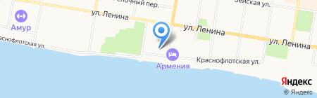 ЭКСПО-лизинг на карте Благовещенска