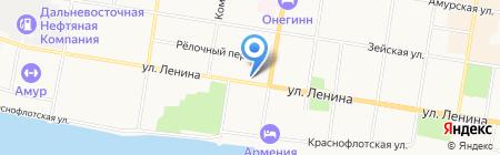 СВТ-Центр на карте Благовещенска