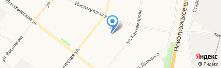 Детский сад №60 на карте Благовещенска