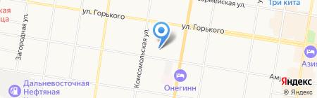 Детский сад №19 на карте Благовещенска