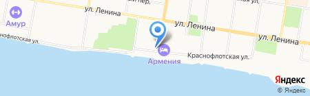 Административный участок №20 на карте Благовещенска