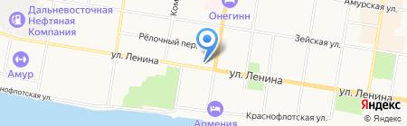 Sisin dom на карте Благовещенска