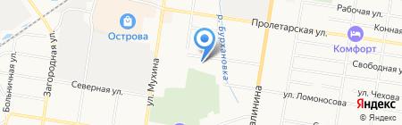 Империя Авто на карте Благовещенска