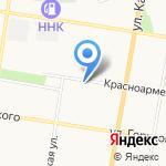 Благовещенский гарнизонный военный суд на карте Благовещенска