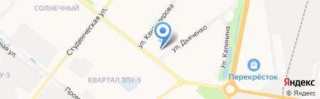 Административный участок №42 на карте Благовещенска