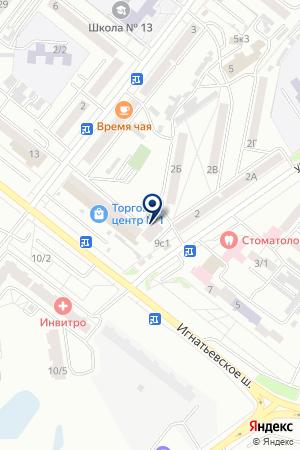 Административный участок №44 на карте Благовещенска