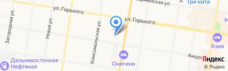 Ермак Охрана на карте Благовещенска