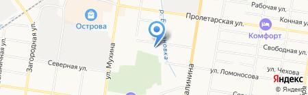 Джип Моторс на карте Благовещенска