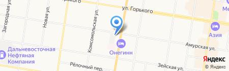 Главный центр специальной связи на карте Благовещенска