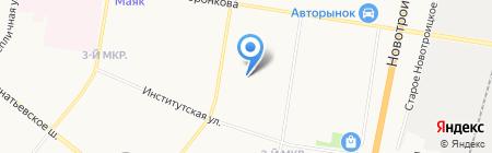 Лаки+ на карте Благовещенска