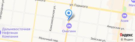 VIKTORIA на карте Благовещенска