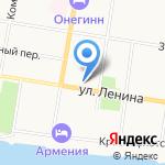 Агентство экспертизы и права на карте Благовещенска