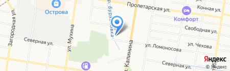НОНИ на карте Благовещенска