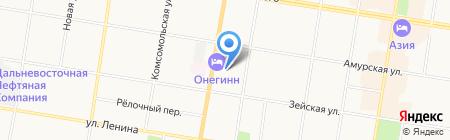 Ёко на карте Благовещенска