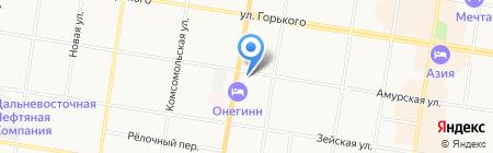 А-СТОМ на карте Благовещенска