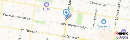Банкомат КБ Восточный экспресс банк на карте Благовещенска