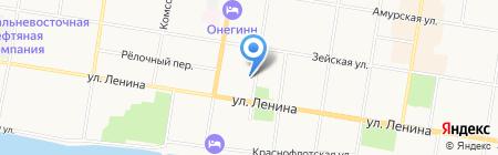 Благовещенский городской архивный и жилищный центр на карте Благовещенска
